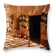 Shop In Tamegroute Throw Pillow