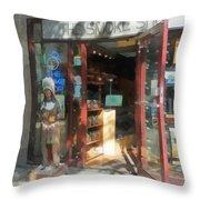 Shopfronts - Smoke Shop Throw Pillow