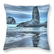 Shore Guardians Throw Pillow