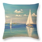 The Cays Throw Pillow