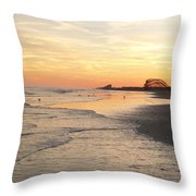 Shoreline Nj Throw Pillow