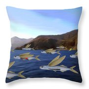 Shoreline Squadron Throw Pillow