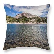 Shores Of Helen Lake Throw Pillow