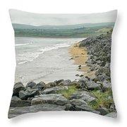 Shores Of Ireland Throw Pillow