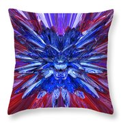 short baSwatches Bryced 54 Throw Pillow