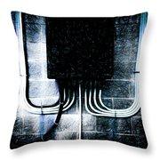 Short Circuit Throw Pillow