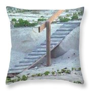 Short Cut Throw Pillow
