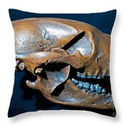 Short Faced Bear Throw Pillow