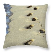 Short Lived Impressions Throw Pillow