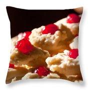 Shortbread Cookies Throw Pillow