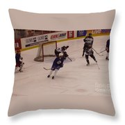 Shot From The Point Throw Pillow
