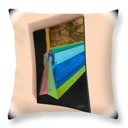 Shot Shift - Hermite 1 Throw Pillow