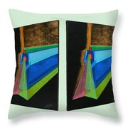 Shots Shifted - Hermite 6 Throw Pillow