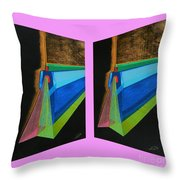 Shots Shifted - Hermite 7 Throw Pillow