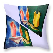 Shots Shifted - Infini-justice 1 Throw Pillow