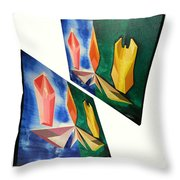 Shots Shifted - Infini-justice 2 Throw Pillow