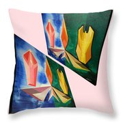 Shots Shifted - Infini-justice 3 Throw Pillow