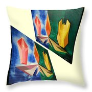 Shots Shifted - Infini-justice 4 Throw Pillow