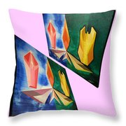 Shots Shifted - Infini-justice 5 Throw Pillow
