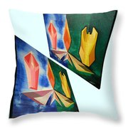 Shots Shifted - Infini-justice 6 Throw Pillow
