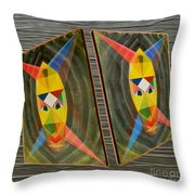 Shots Shifted - Le Mage 1 Throw Pillow