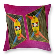 Shots Shifted - Le Mage 5 Throw Pillow