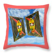 Shots Shifted - Le Mage 6 Throw Pillow