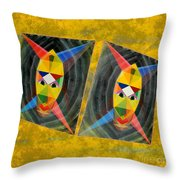 Shots Shifted - Le Mage 7 Throw Pillow