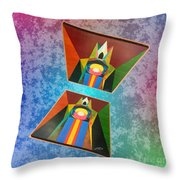 Shots Shifted - Le Pat 3 Throw Pillow