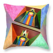 Shots Shifted - Le Pat 4 Throw Pillow