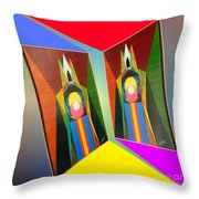 Shots Shifted - Le Pat 5 Throw Pillow