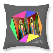 Shots Shifted - Le Pat 7 Throw Pillow