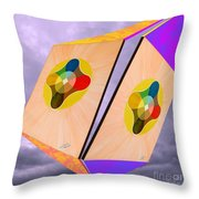 Shots Shifted - Le Soleil 1 Throw Pillow