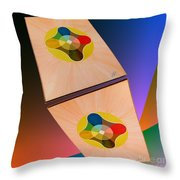 Shots Shifted - Le Soleil 2 Throw Pillow