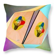 Shots Shifted - Le Soleil 3 Throw Pillow