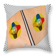 Shots Shifted - Le Soleil 4 Throw Pillow