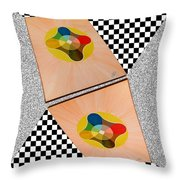 Shots Shifted - Le Soleil 6 Throw Pillow