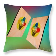 Shots Shifted - Le Soleil 7 Throw Pillow