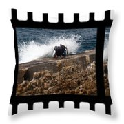 Should Have Stayed In Bed Throw Pillow