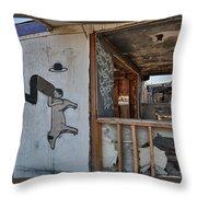 Should We Remodel Graffiti  Throw Pillow