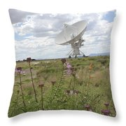 Shout Out To The Universe Throw Pillow