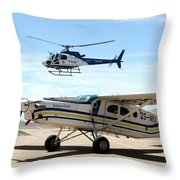 Show Of Force Throw Pillow