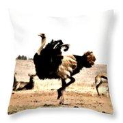 Show-off V5 Throw Pillow
