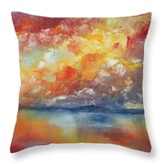 Show Your Color Throw Pillow