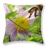 Show Your Inner Beauty Throw Pillow