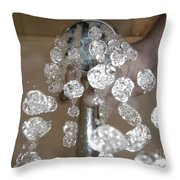 Shower Head Throw Pillow by Mats Silvan
