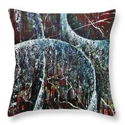 Showers Of Mercy And Grace Throw Pillow