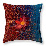 Showers To Flowers Throw Pillow