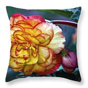Showgirl Throw Pillow
