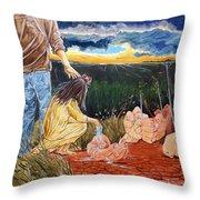 Showing How..... Throw Pillow by Lazaro Hurtado